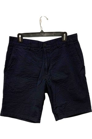 Norse projects Navy Cotton Shorts