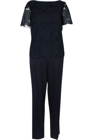 Tory Burch Navy Polyester Jumpsuits