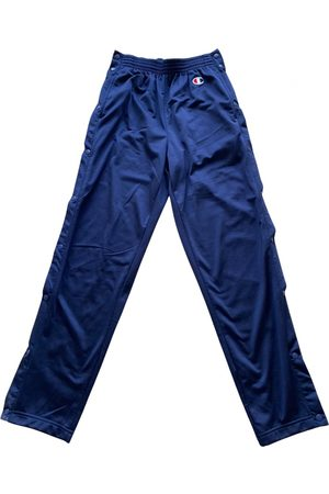 Champion Navy Polyester Trousers