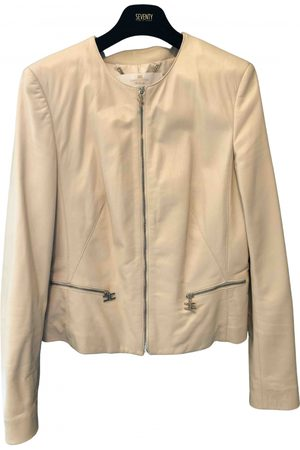 Elisabetta Franchi Women Leather Jackets - Leather biker jacket