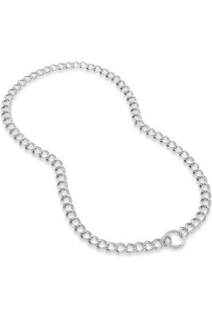 Monica Vinader Necklaces - Sterling Silver Groove Curb Chain Necklace