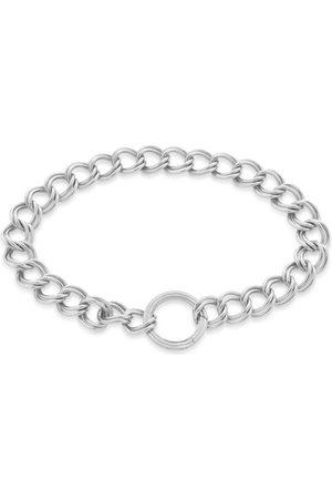 Monica Vinader Bracelets - Sterling Silver Groove Curb Chain Bracelet