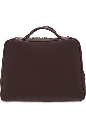 IL BISONTE Rossa Medium Leather Bowling Bag