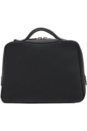 IL BISONTE Women Bowling Bags - Rossa Mini Grain Leather Bowling Bag