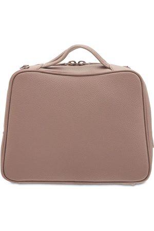 IL BISONTE Rossa Mini Grain Leather Bowling Bag