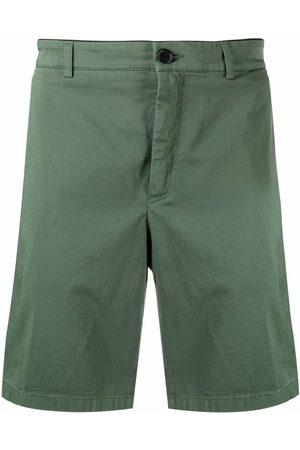 Department 5 Men Bermudas - Logo patch bermuda shorts