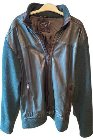 Paul & Shark Men Leather Jackets - Leather jacket