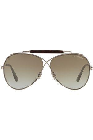 Tom Ford Aviators - Infinity aviator sunglasses - 2880D7 GUNMETAL SHINY