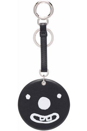 10 CORSO COMO Women Keychains - Smiley leather keyring
