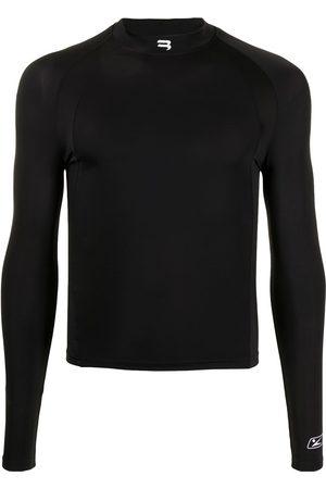 Balenciaga Long Sleeve - B Sport logo long-sleeve fitted top