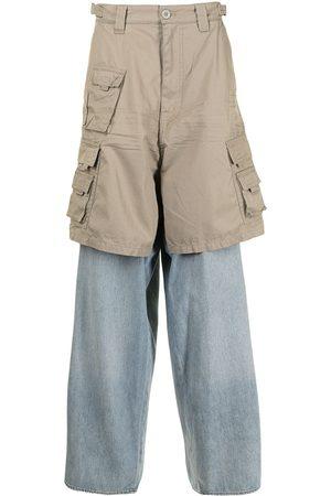 Balenciaga Hybrid Cargo loose-fit trousers