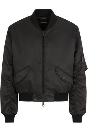 Dolce & Gabbana Men Bomber Jackets - Zip-front bomber jacket