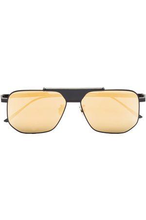 Bottega Veneta Eyewear Mirrored square-frame sunglasses