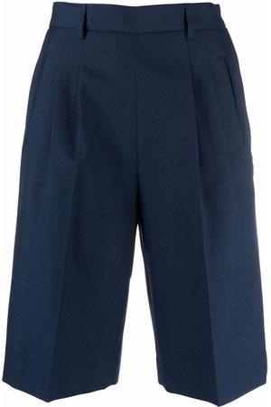 Maison Margiela Women Shorts - High-waisted tailored shorts