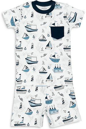 Noomie Boys Pajamas - Boys' Boats Pajama Set - Little Kid
