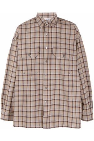 Acne Studios Oversized checked shirt