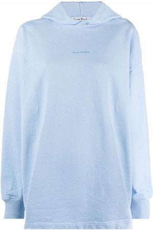 Acne Studios Logo-print pullover hoodie