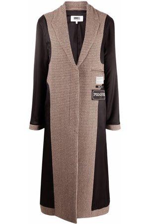 MM6 MAISON MARGIELA Checked panelled coat