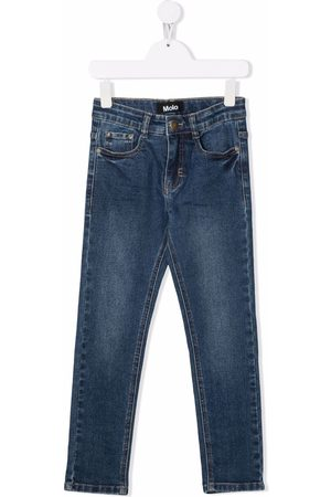Molo Kids Boys Straight - Mid-rise straight jeans
