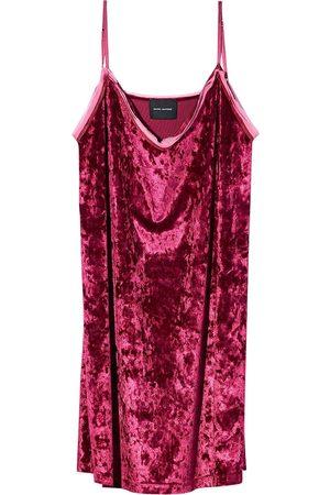 Marc Jacobs Women Casual Dresses - Velvet-effect slip dress