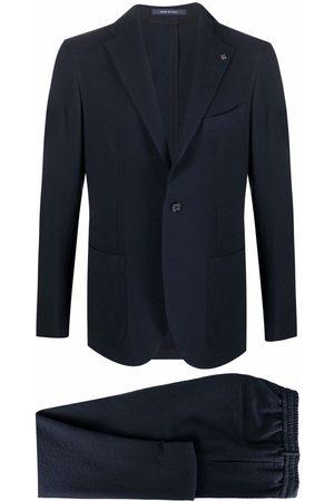 TAGLIATORE Elasticated single-breasted suit
