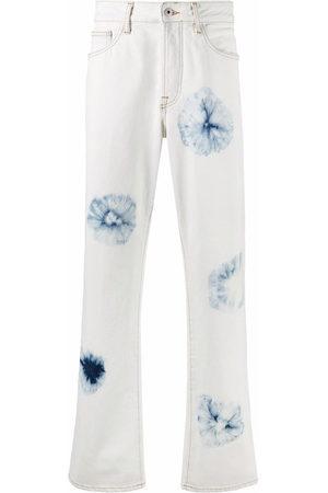 Marcelo Burlon County of Milan Tie-dye straight-leg jeans