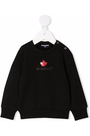 Dsquared2 Hoodies - Logo-print cotton sweatshirt