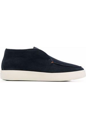 santoni Men Loafers - Ballroom leather loafers
