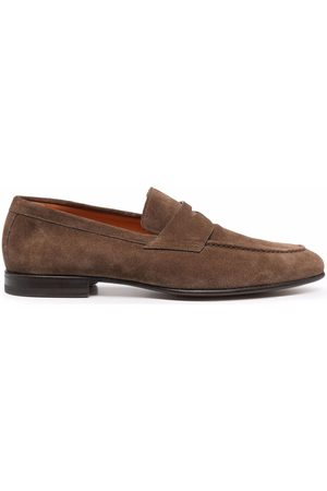 santoni Men Loafers - Leather Penny loafers