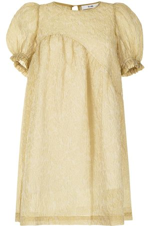 B+AB Women Lingerie Bodies - Textured babydoll smock dress