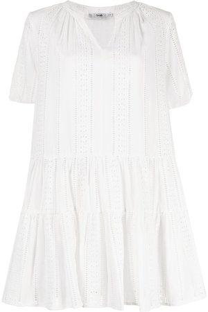 B+AB Crochet-panelled smock dress
