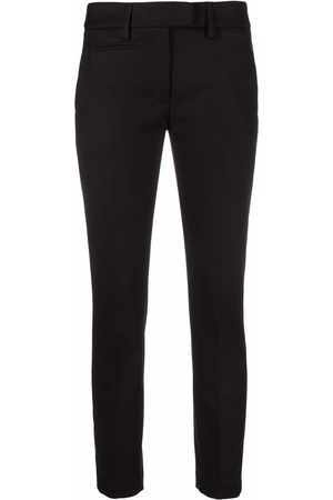 Dondup Women Formal Pants - Slim-fit tailored trousers