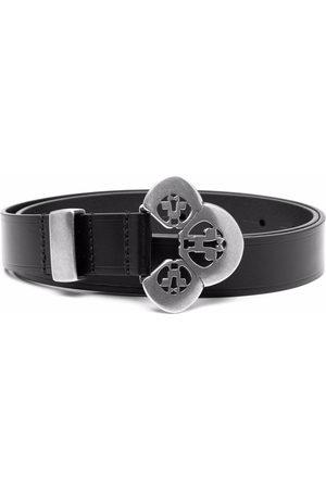 Isabel Marant Engraved-buckle leather belt