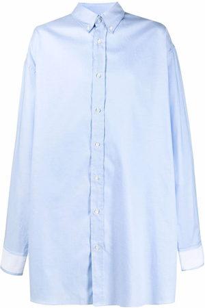Maison Margiela Men Casual - Oversized cotton shirt