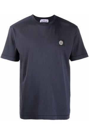 Stone Island Logo-patch short-sleeved T-shirt