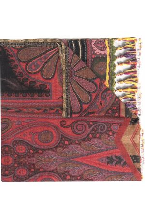 Etro Ornamental paisley scarf
