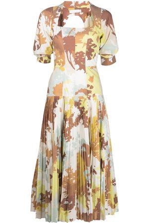 JONATHAN SIMKHAI Iva abstract-print dress - Multicolour