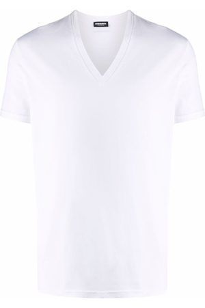 Dsquared2 Men Short Sleeve - V-neck short-sleeved T-shirt