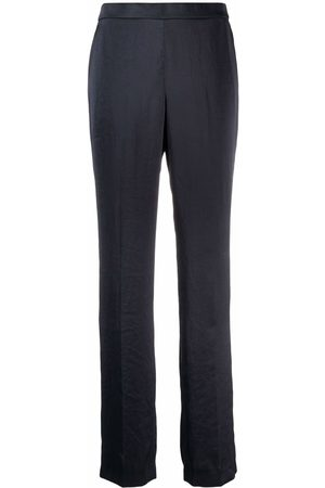 THEORY Straight wide-leg trousers