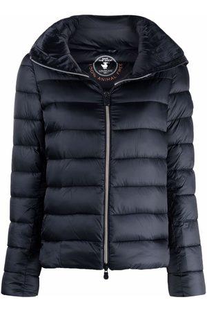 save the duck Iris band-collar puffer jacket