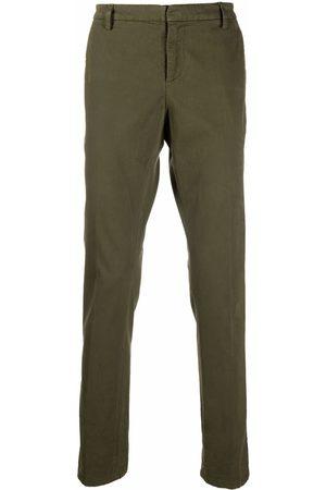 Dondup Men Straight Leg Pants - Straight-leg cotton trousers
