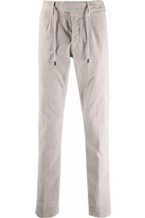 ELEVENTY Corduroy straight-leg trousers - Neutrals