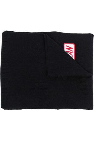 Dsquared2 Logo-patch wool scarf