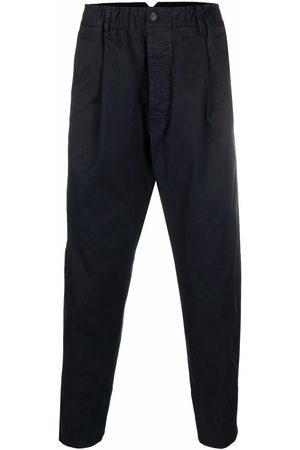 Dsquared2 Men Pants - Pleat-detail cotton tapped trousers