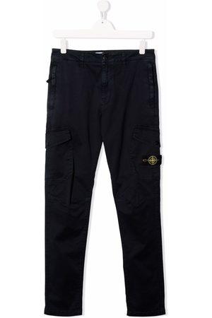 Stone Island Cargo Pants - TEEN straight-leg cargo trousers