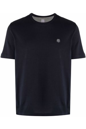 ELEVENTY Men Short Sleeve - Logo-detail short-sleeved T-shirt