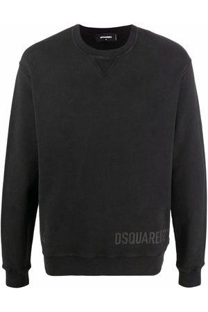 Dsquared2 Men Sweatshirts - Logo-print crew neck sweater
