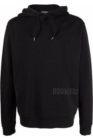 Dsquared2 Men Hoodies - Cotton logo-print hoodie