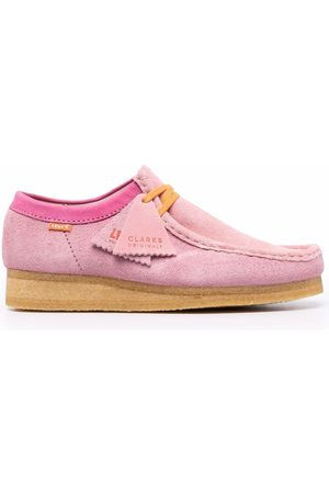 Clarks X Levi Wallabee lace-up shoes