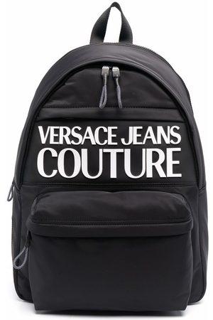 VERSACE Logo-print zip-around backpack